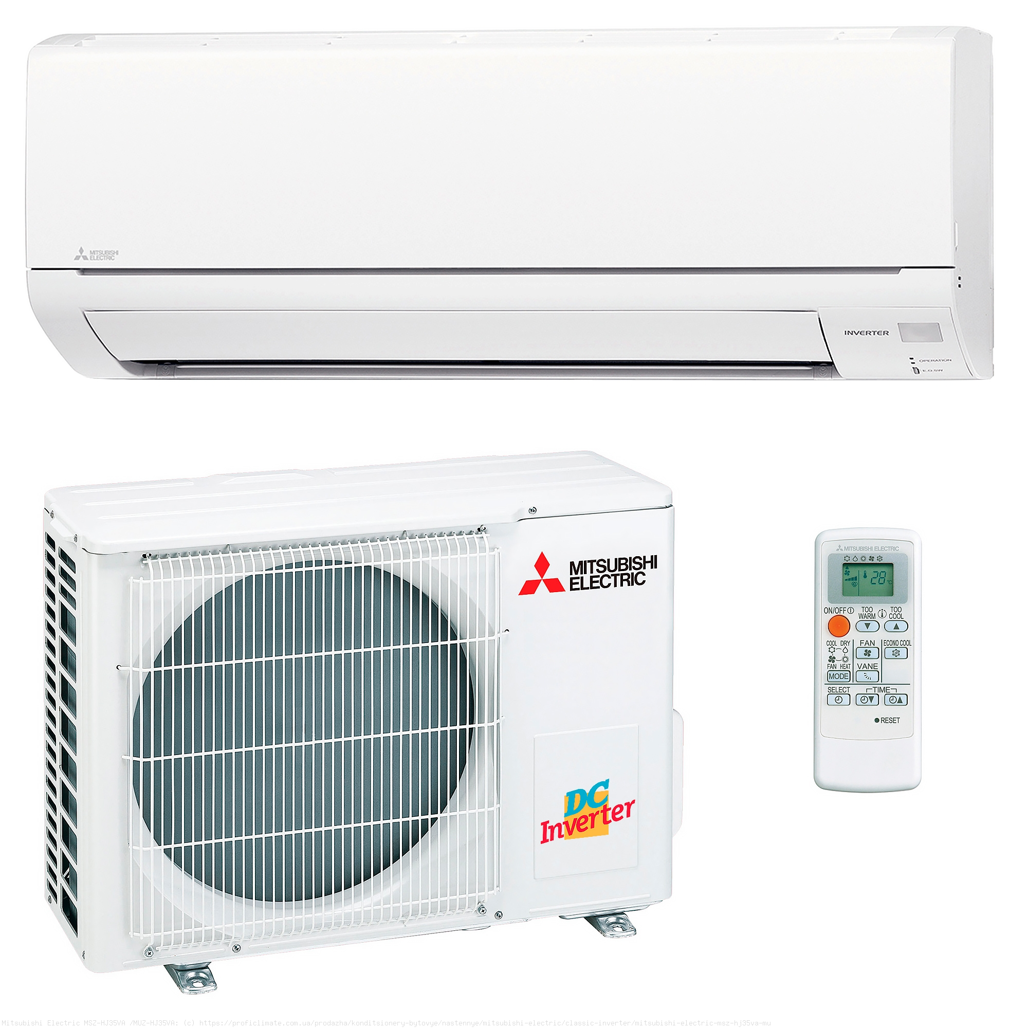 кондиционеры mitsubishi electric msz-hj35